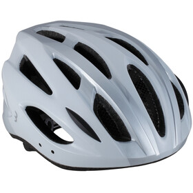 BBB Condor BHE-35 Kask rowerowy, white/silver